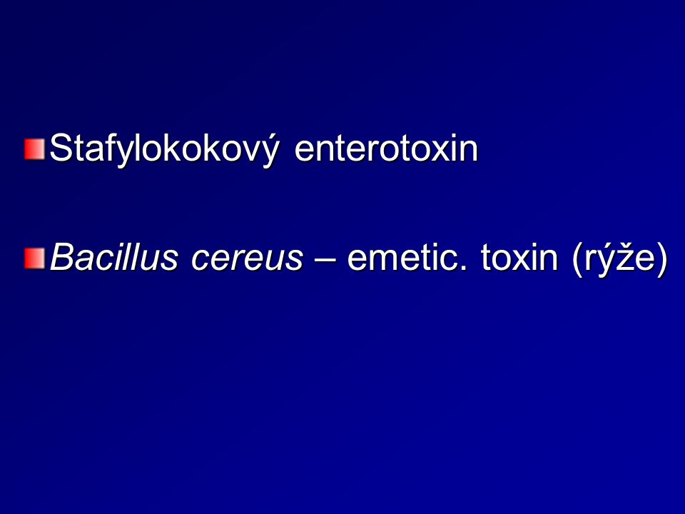 Stafylokokový enterotoxin