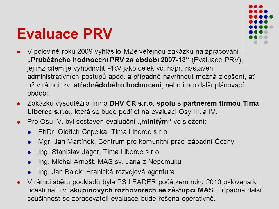 Evaluace PRV