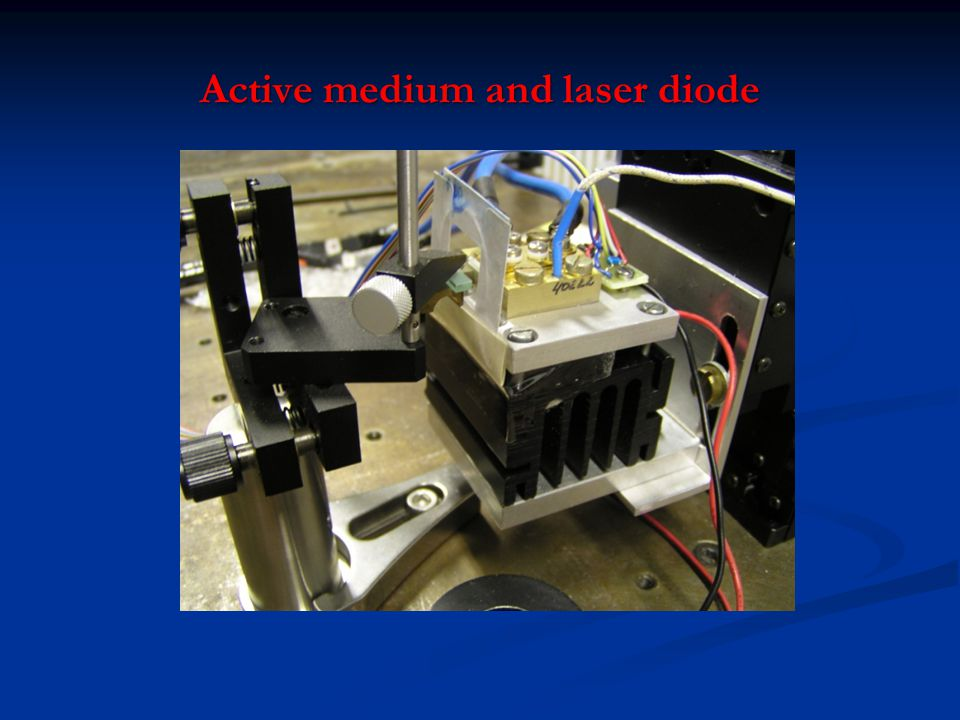 Active medium and laser diode