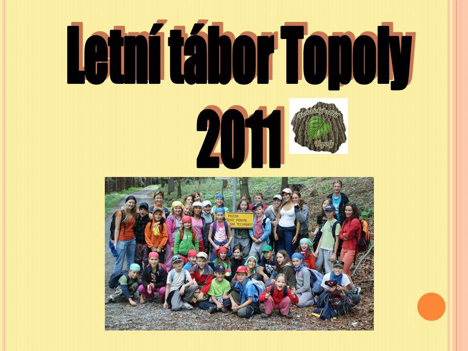 Letní tábor Topoly 2011