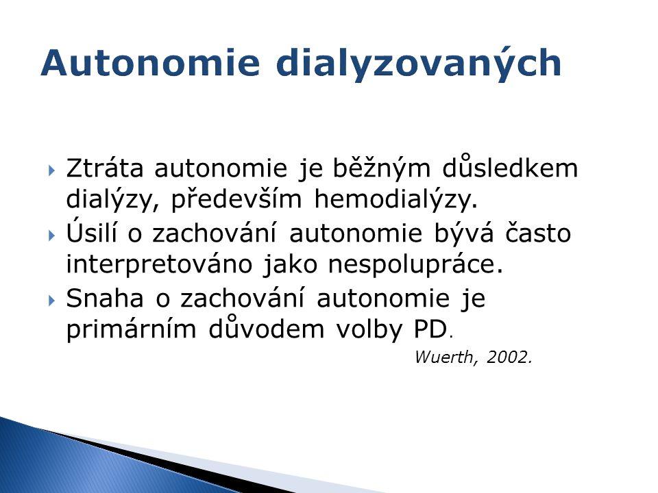 Autonomie dialyzovaných
