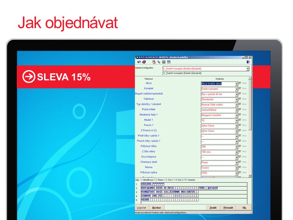 2525 Jak objednávat SLEVA 15%