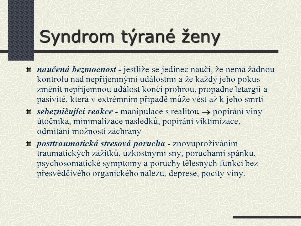 Syndrom týrané ženy