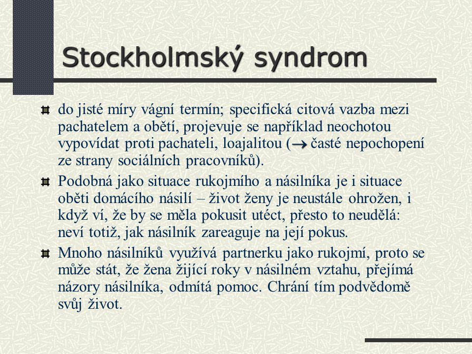 Stockholmský syndrom