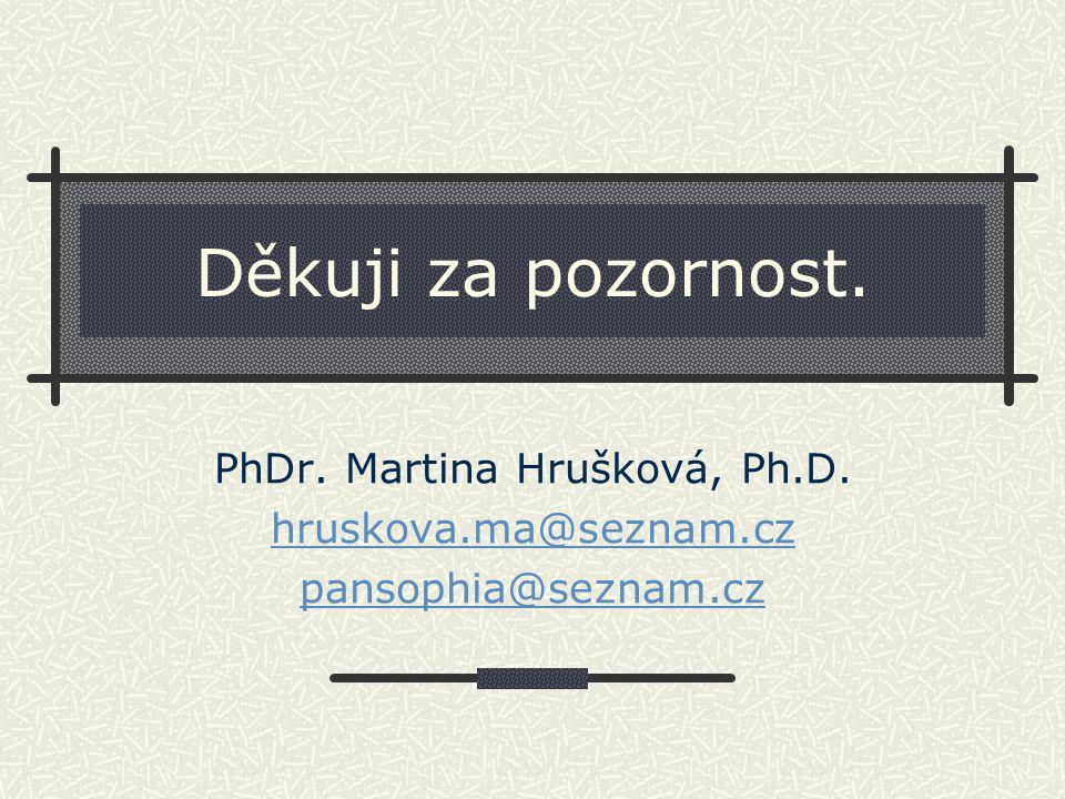 PhDr. Martina Hrušková, Ph.D.