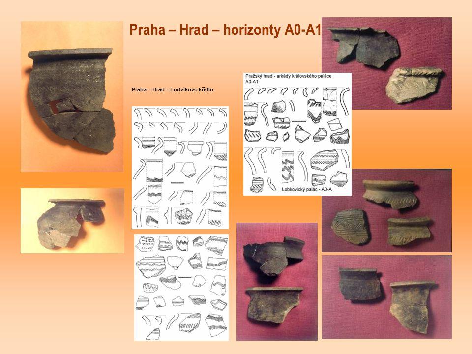 Praha – Hrad – horizonty A0-A1