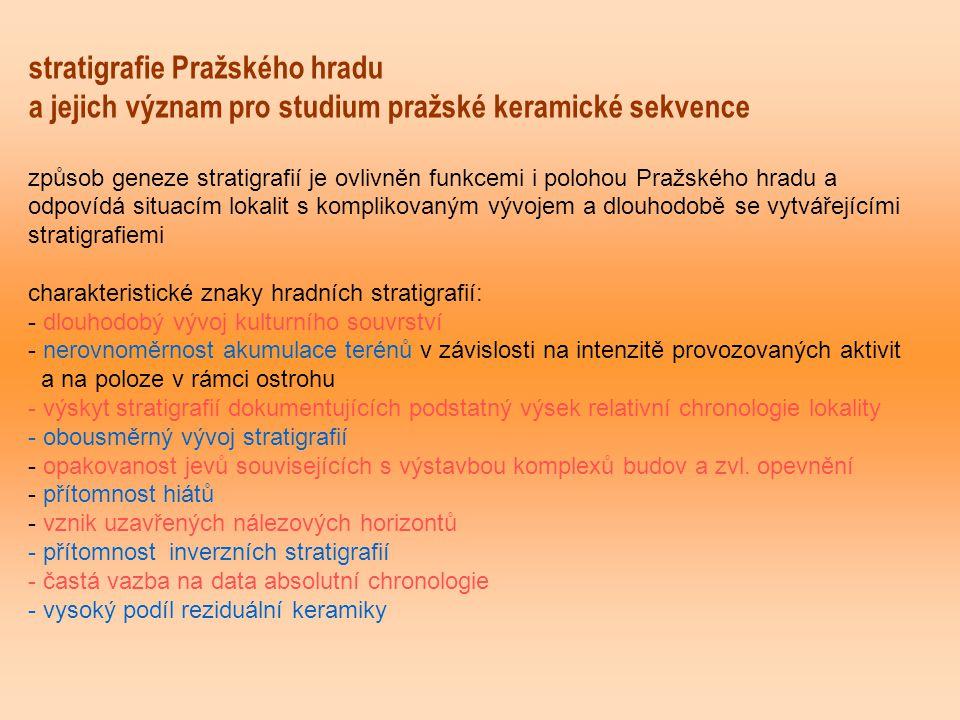 stratigrafie Pražského hradu