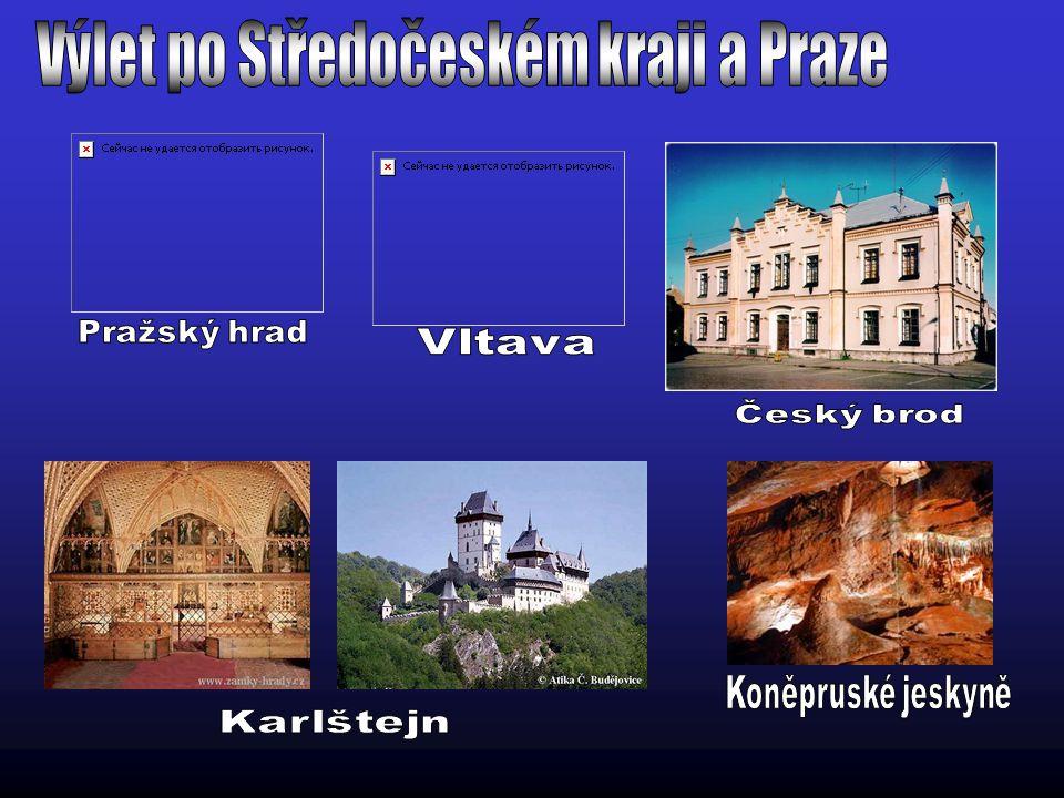 Výlet po Středočeském kraji a Praze
