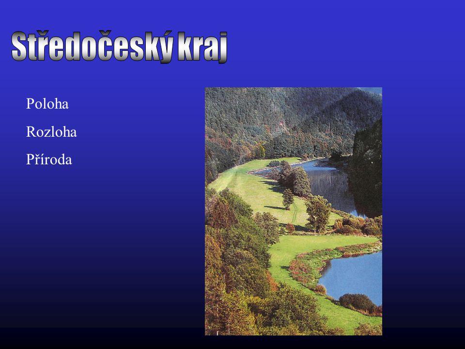 Středočeský kraj Poloha Rozloha Příroda
