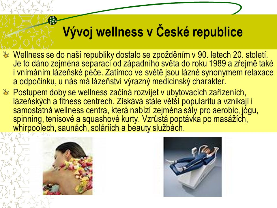 Vývoj wellness v České republice