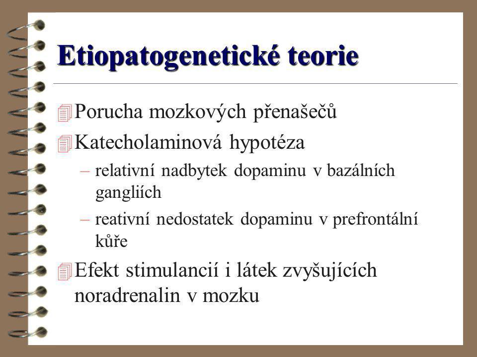 Etiopatogenetické teorie