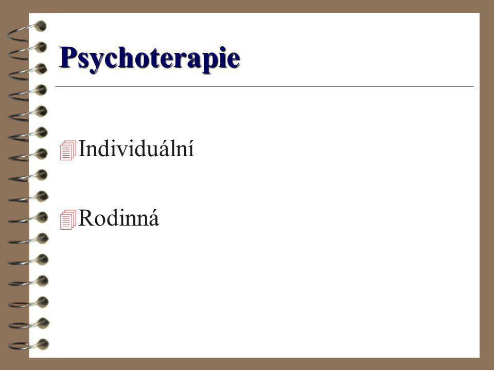 Psychoterapie Individuální Rodinná
