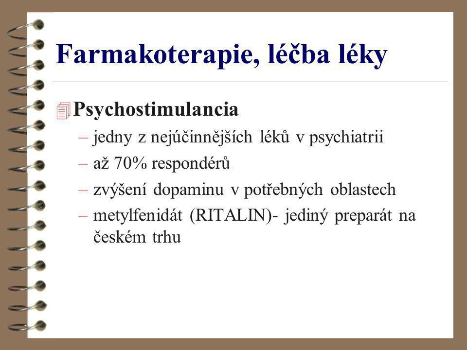 Farmakoterapie, léčba léky