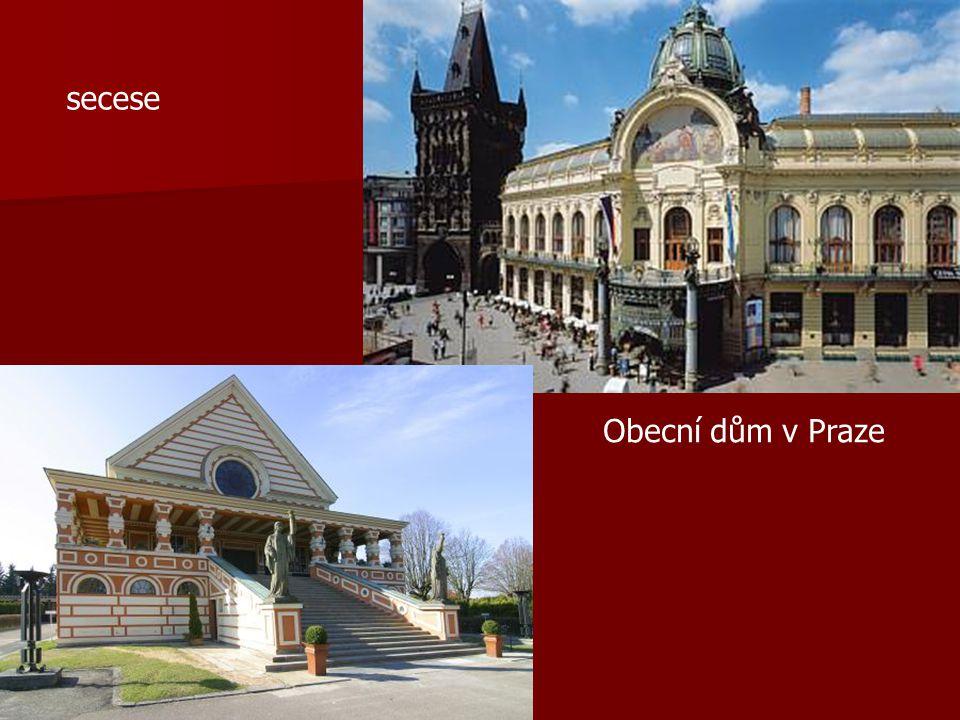 secese Obecní dům v Praze