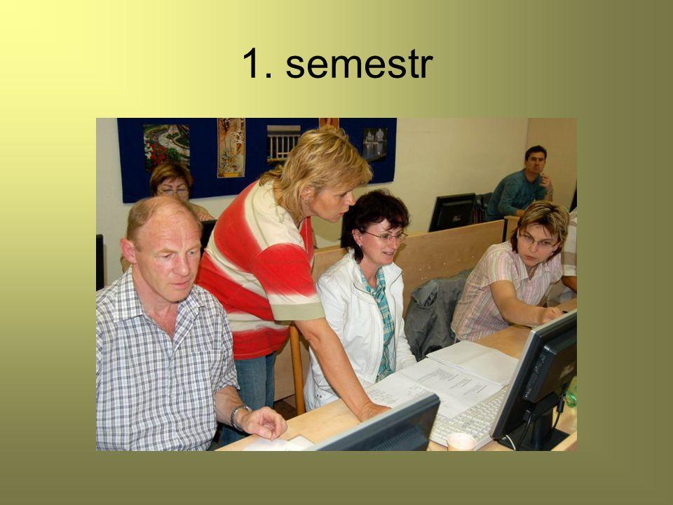 1. semestr