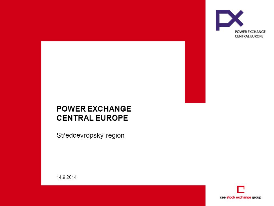POWER EXCHANGE CENTRAL EUROPE