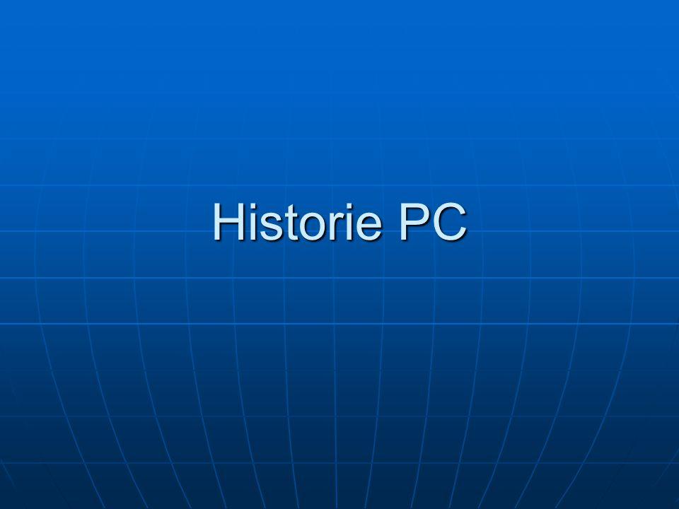 Historie PC