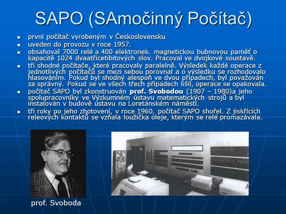 SAPO (SAmočinný Počítač)