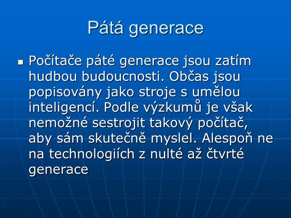Pátá generace
