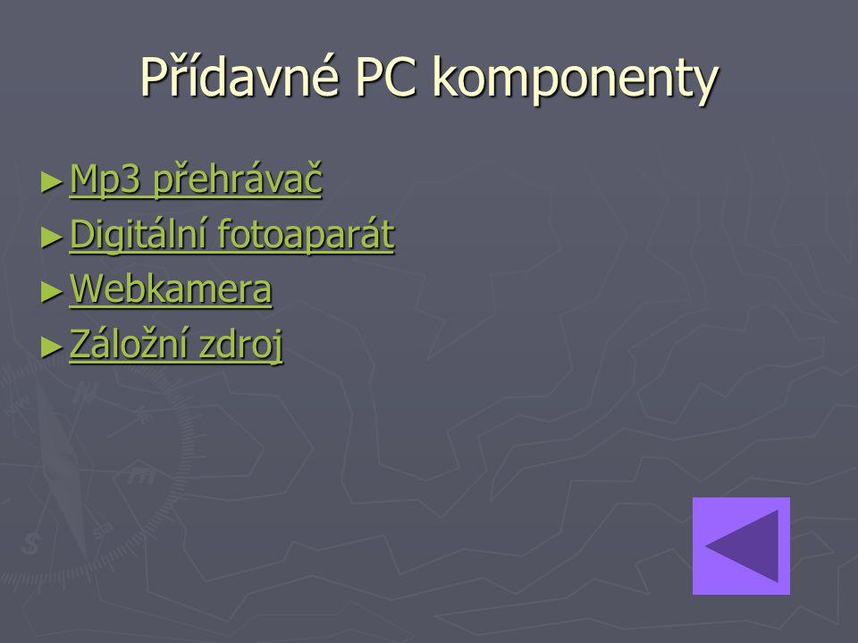 Přídavné PC komponenty