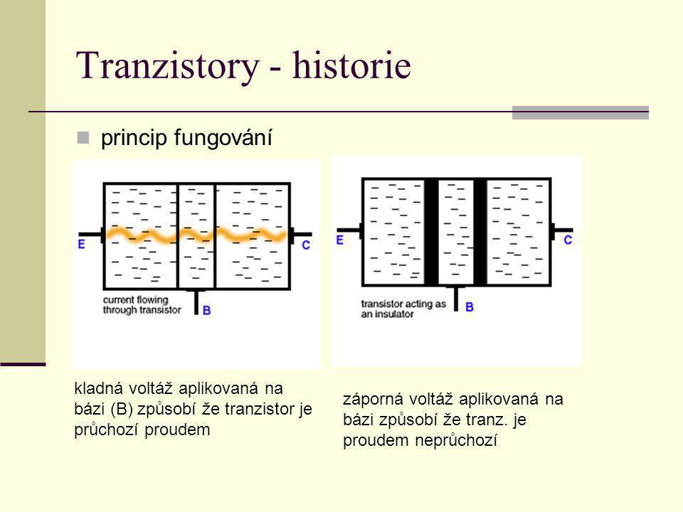 Tranzistory - historie