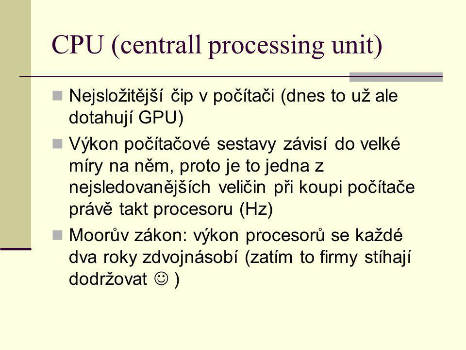 CPU (centrall processing unit)