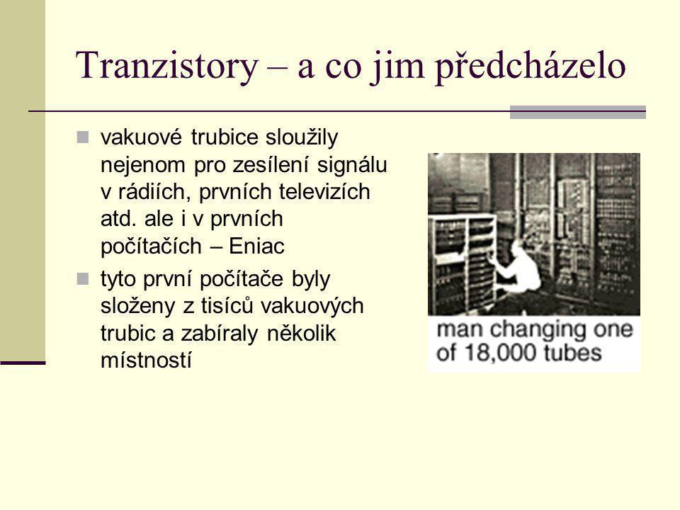 Tranzistory – a co jim předcházelo