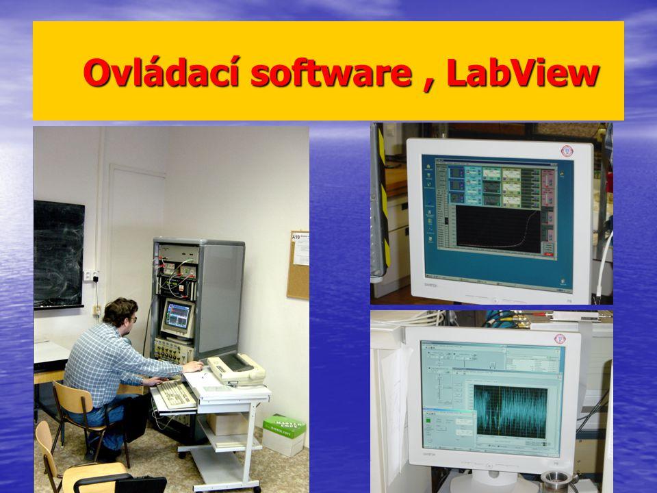 Ovládací software , LabView