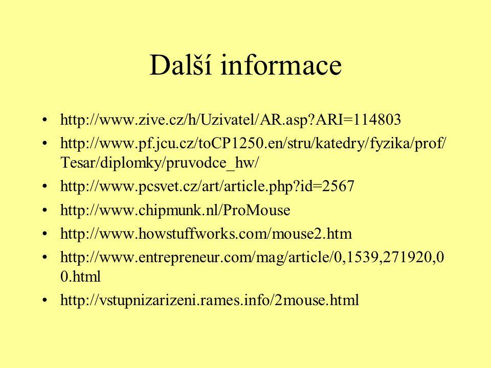 Další informace http://www.zive.cz/h/Uzivatel/AR.asp ARI=114803