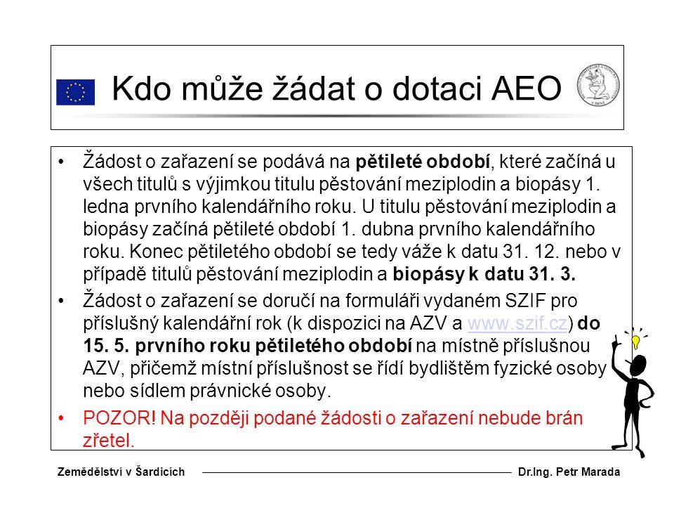 Kdo může žádat o dotaci AEO