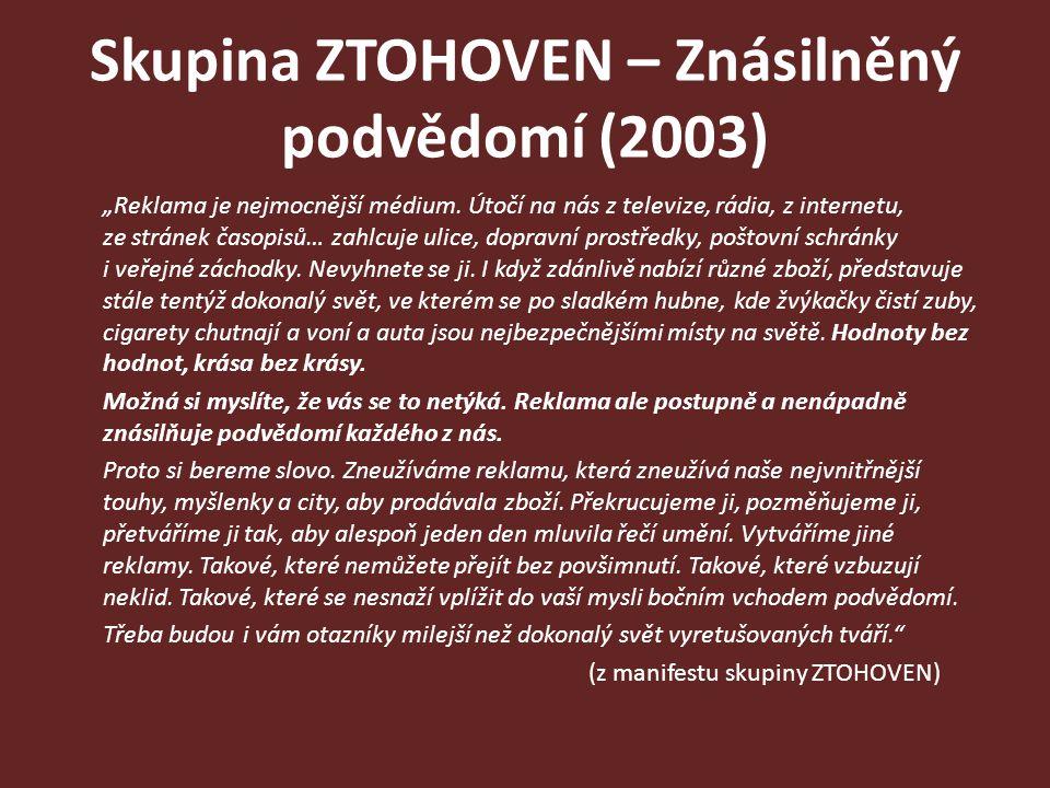 Skupina ZTOHOVEN – Znásilněný podvědomí (2003)