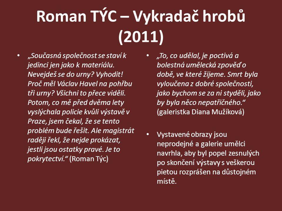 Roman TÝC – Vykradač hrobů (2011)