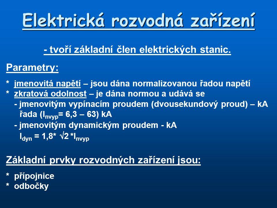 Elektrická rozvodná zařízení