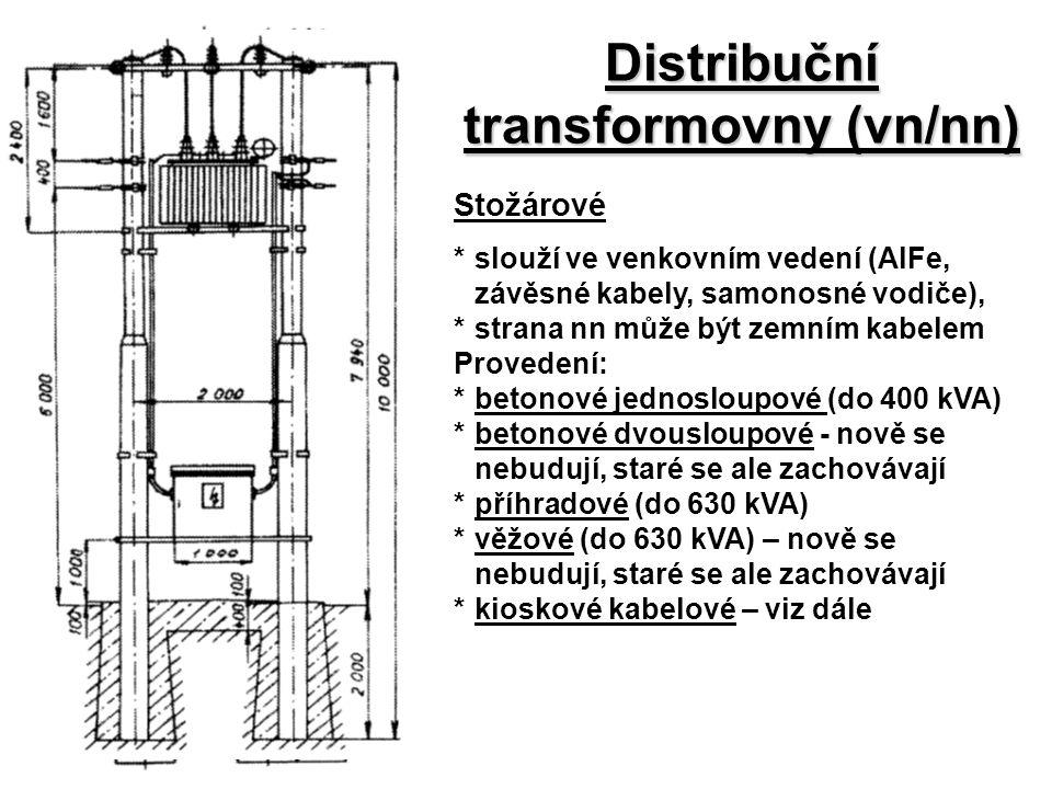 Distribuční transformovny (vn/nn)