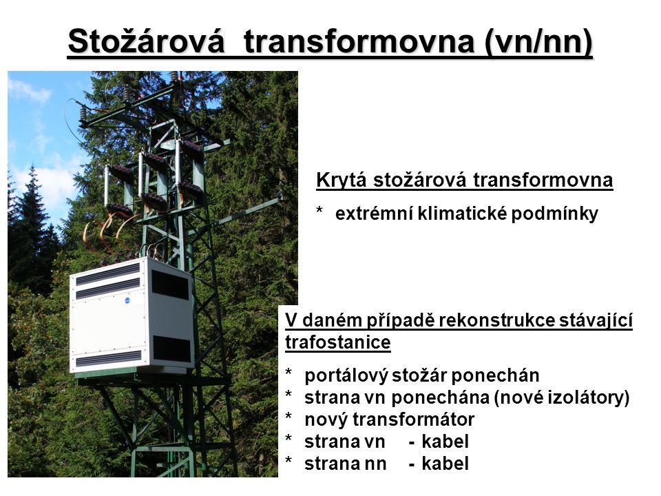 Stožárová transformovna (vn/nn)