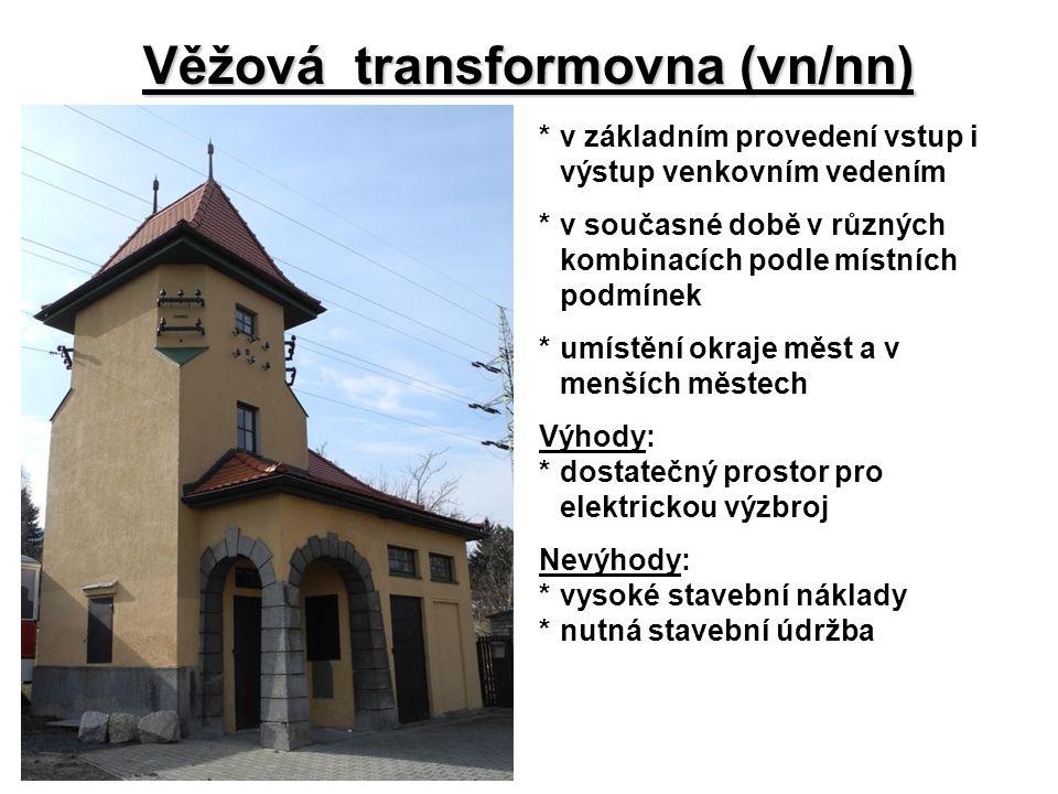 Věžová transformovna (vn/nn)