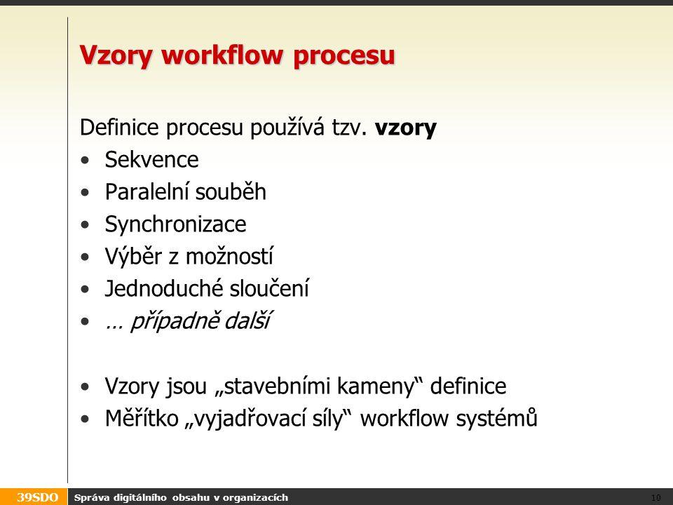 Vzory workflow procesu