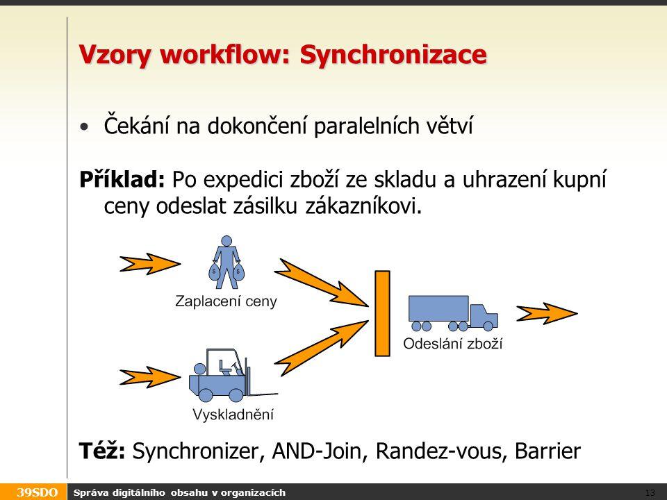 Vzory workflow: Synchronizace