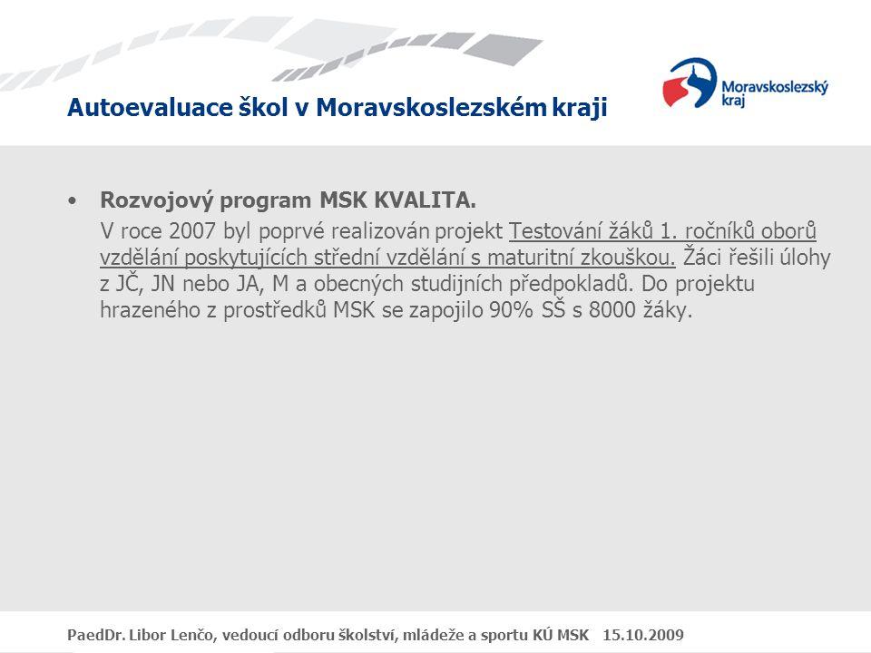 Rozvojový program MSK KVALITA.