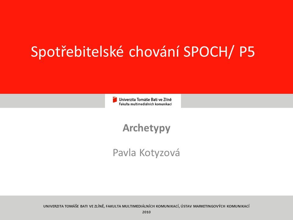 Spotřebitelské chování SPOCH/ P5
