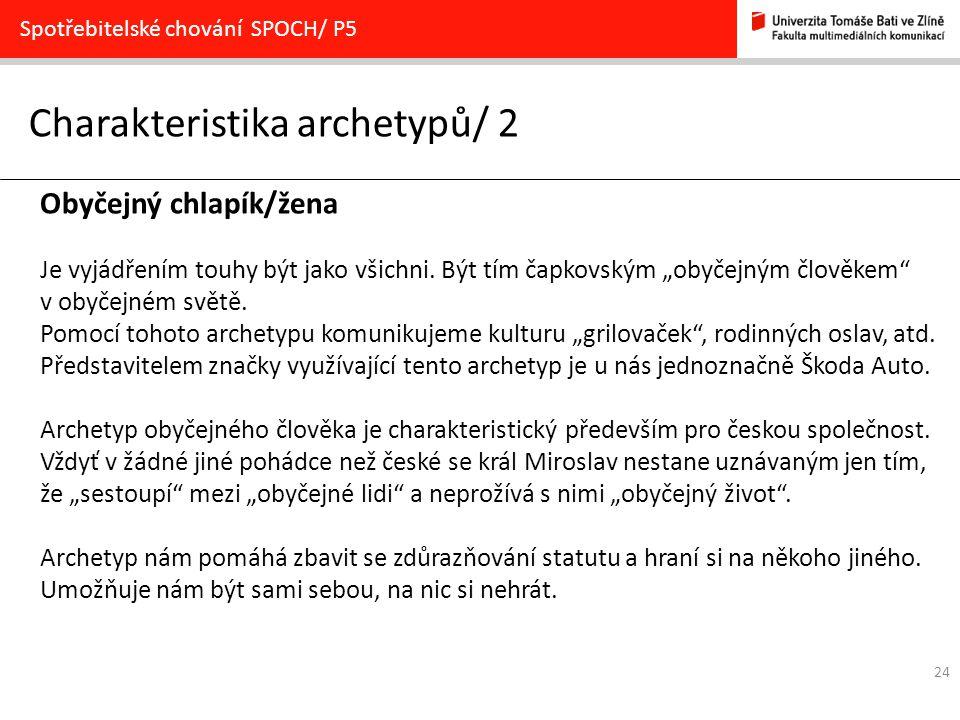 Charakteristika archetypů/ 2