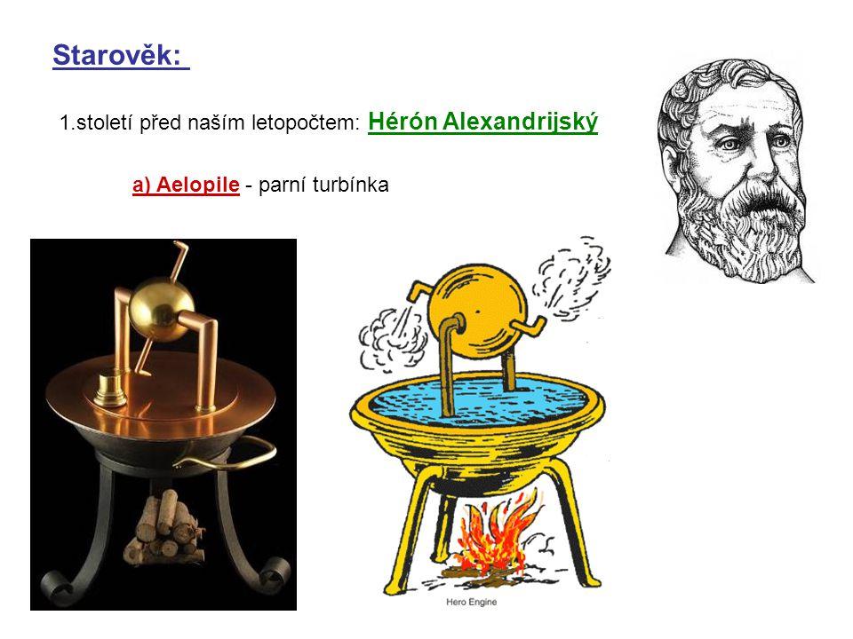 Starověk: 1.století před naším letopočtem: Hérón Alexandrijský