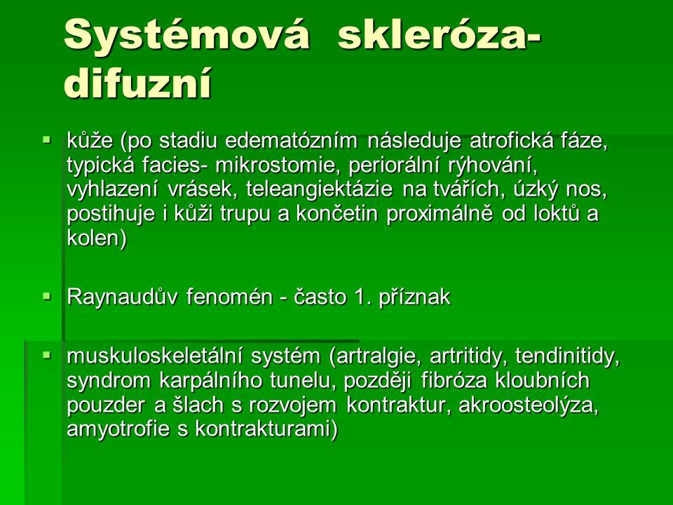 Systémová skleróza- difuzní