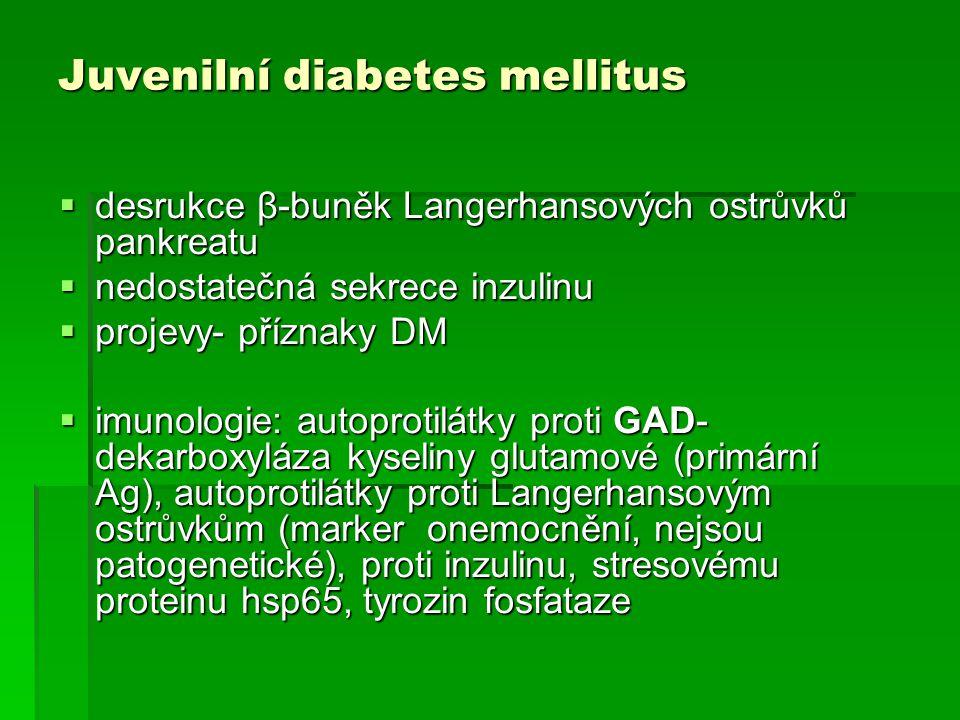 Juvenilní diabetes mellitus