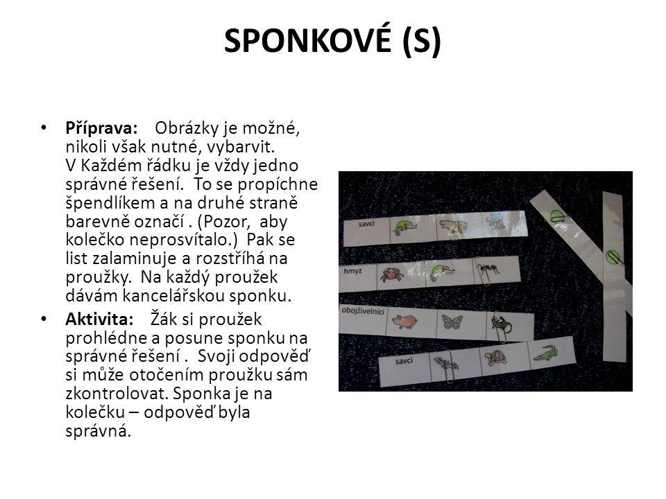 SPONKOVÉ (S)