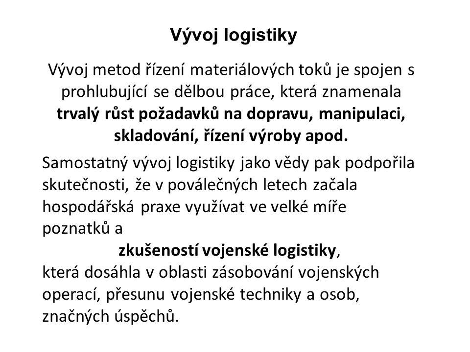 zkušeností vojenské logistiky,