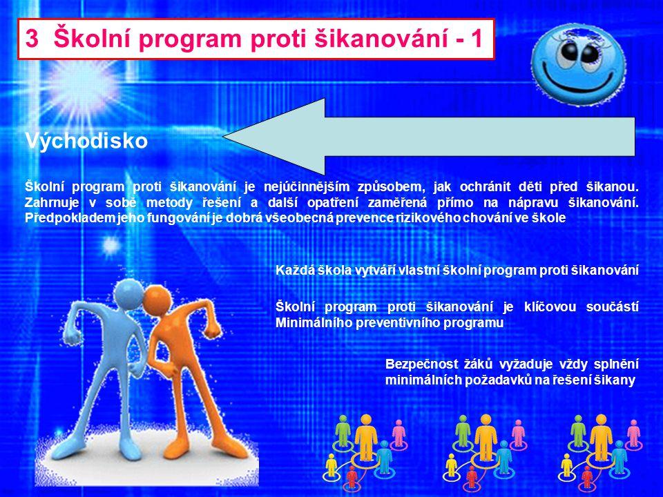 3 Školní program proti šikanování - 1