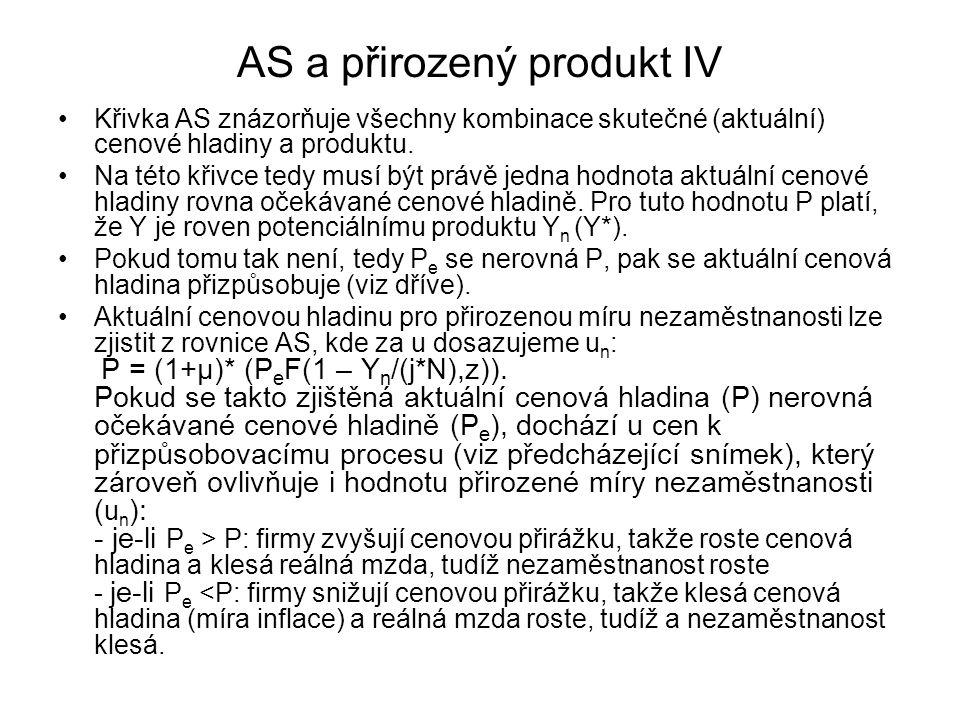 AS a přirozený produkt IV