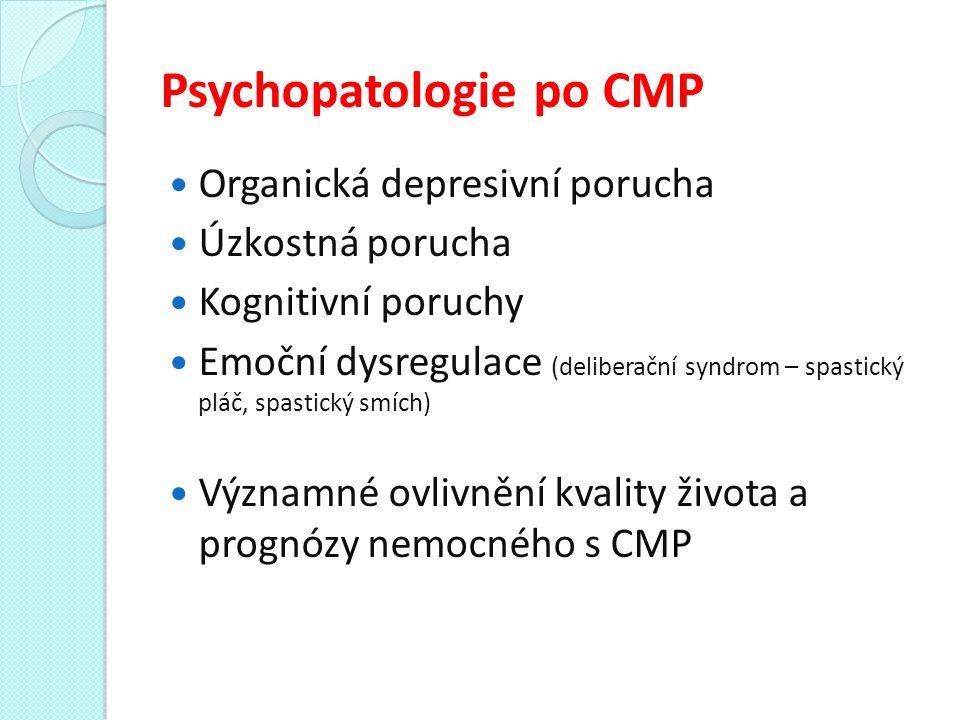 Psychopatologie po CMP