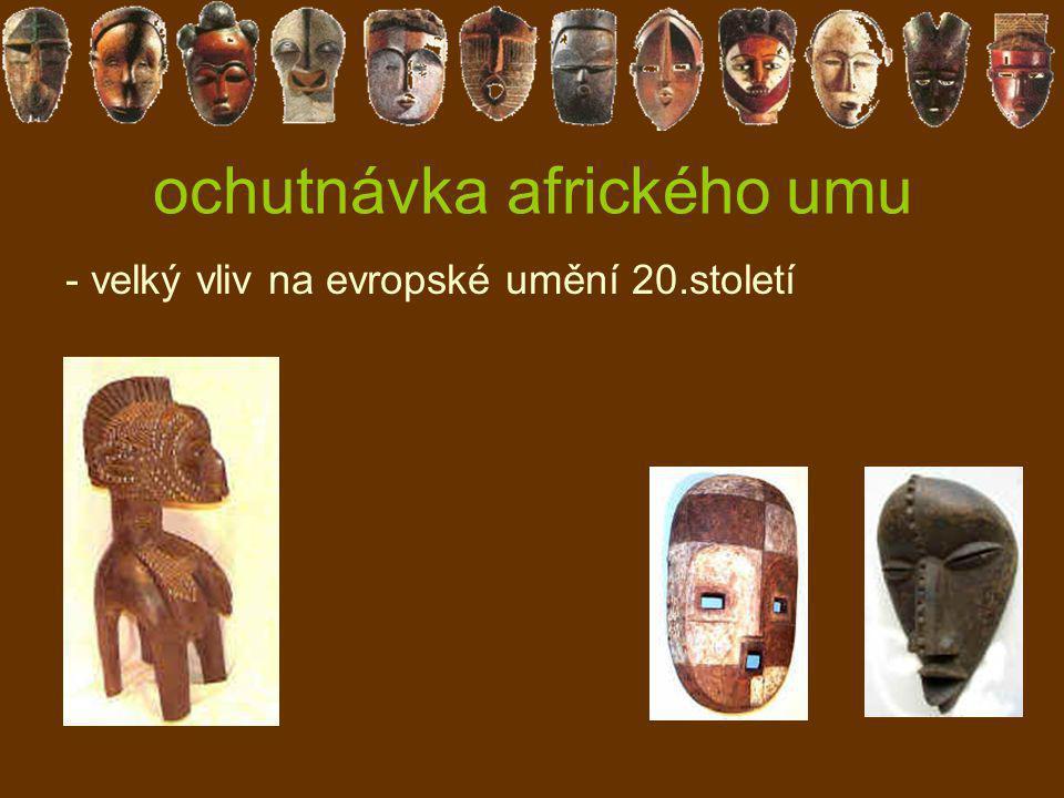ochutnávka afrického umu